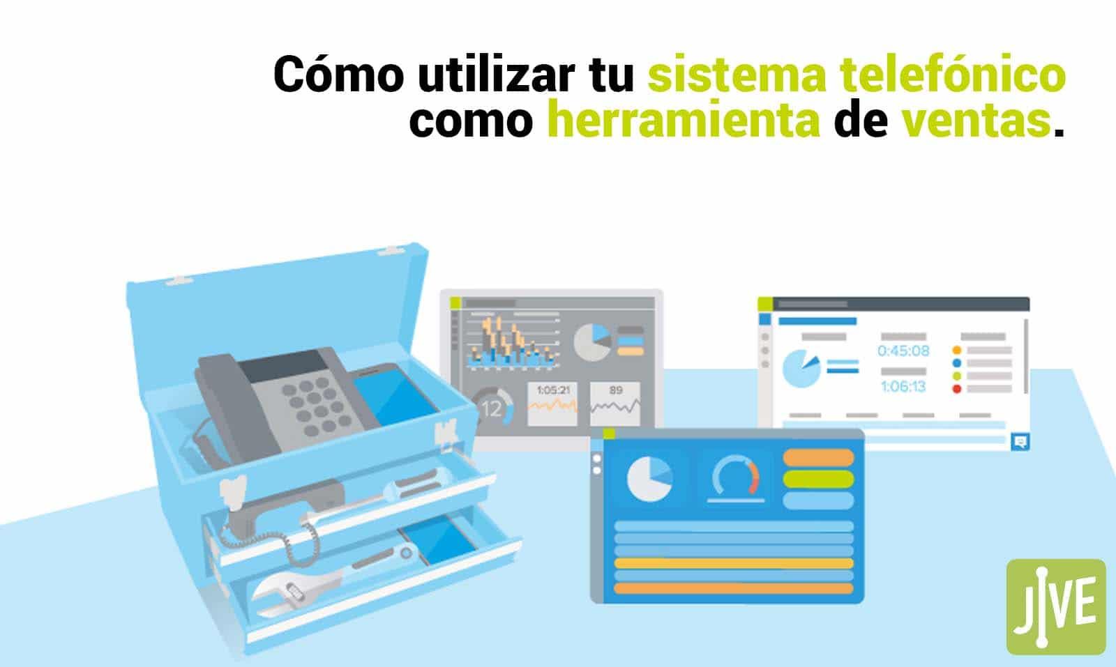Cómo utilizar tu sistema telefónico como herramienta de ventas.