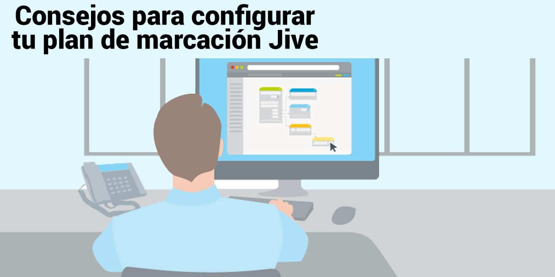 configurar plan de marcación Jive