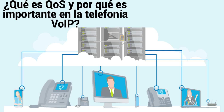 ¿Qué es QoS y por qué es importante en la telefonía VoIP?